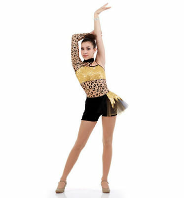 Adult 2XL Gold Wild Side Animal Print Boy Shorts Cheetah Dance Costume Plus Size (Plus Size Cheetah Costume)