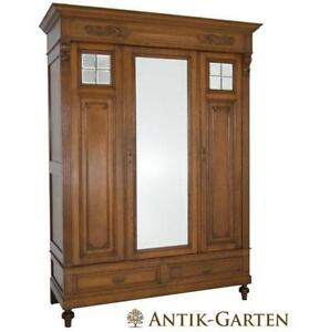 kleiderschrank spiegel ebay. Black Bedroom Furniture Sets. Home Design Ideas