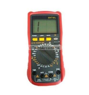 Deluxe Digital Voltmeter Ohmmeter Multimeter Ohm Dc Ac Voltage Tester Snt18l