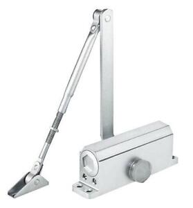 Commercial Door Closer Silver Aluminium Alloy 35-110KG 152250