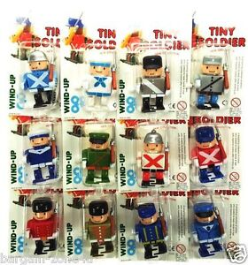New Tiny Wind-up Soldiers Toys Kids Boys Girls Toys Nice Little Wind-Up Soldiers
