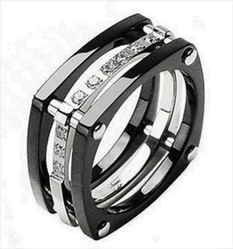 Mens Titanium Diamond Wedding Bands Ebay