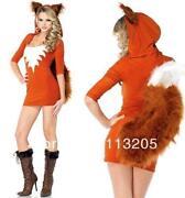 Womens Halloween Costumes Fox