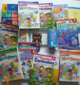 Various home schooling books
