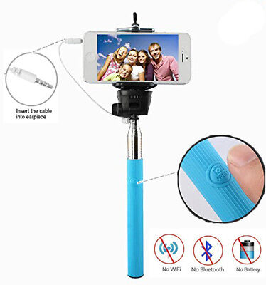 Wholesales Lot Universal Selfie Remain attached Monopod Remote Shutter For Samsung iPhone