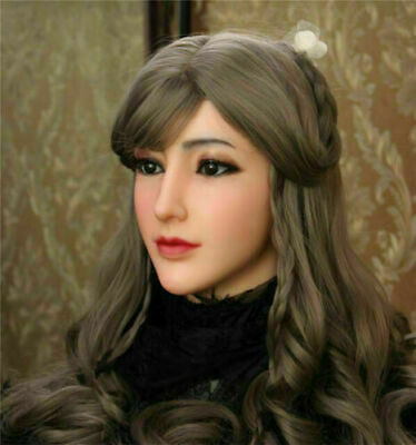 IMI Alice Realistic Silicone Female Headwear Halloween For Crossdresser Props
