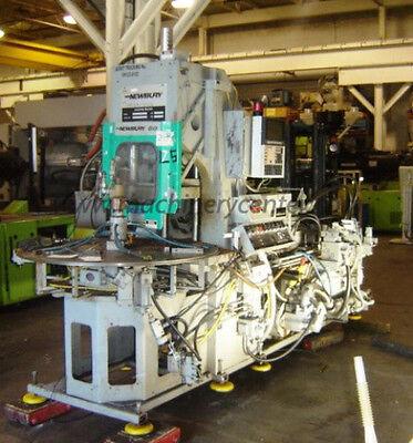 80 Ton 3 Oz. Newbury Rotary Injection Molding Machine 95