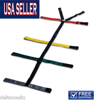 Medical Spider Strap Emergency Spineboard Color Ambulance Eg-010b 191-mayday