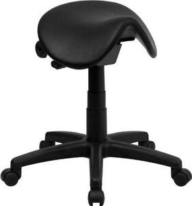 NEW Flash Furniture WL-915MG-GG Backless Saddle Stool Condition: New