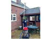 professional gutter and jet wash cleaning