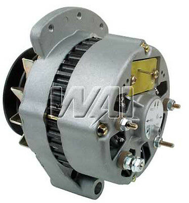 Alternator Ford Tractor 4600 4610 5600 5610 5900 6600 With New Volt. Regulator