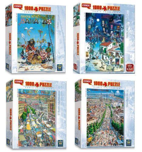 Free Comic Book Day Uk Store Locator: 1000 Piece Jigsaw Puzzles Comic