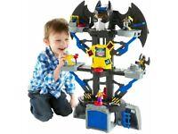 Fisher-Price Imaginext DC Super Friends, Transforming Batcave Playset Batman