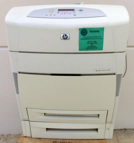Hp Laserjet 5500 Printer Ebay