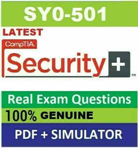 CompTIA Security SY0-501 Real Exam Q&A And Simulator🔥✔ Fast Delivery📥
