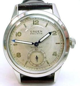 vintage gruen watch ebay. Black Bedroom Furniture Sets. Home Design Ideas