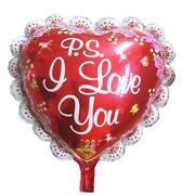 Joblot Foil Balloons