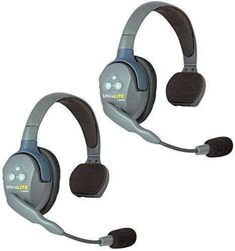 Eartec UL2S   UltraLITE 2 Person System with 2 Single Headsets