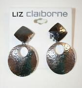 Liz Claiborne Clip Earrings