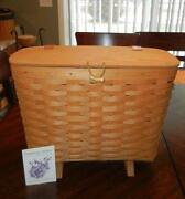 Longaberger Magazine Basket