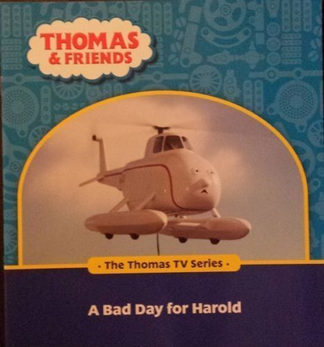 CHILDREN'S BOOK...THOMAS & FRIENDS TV SERIES.....A BAD DAY FOR HAROLD..  new