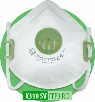 FFP3 RD Wiederverwendbar Atemschutzmaske Mundschutz Schutzmaske MADE IN EU