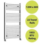 Square Heated Towel Rail