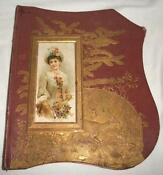 Antique Victorian Scrapbook