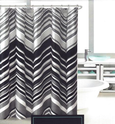 Chevron Shower Curtain Ebay
