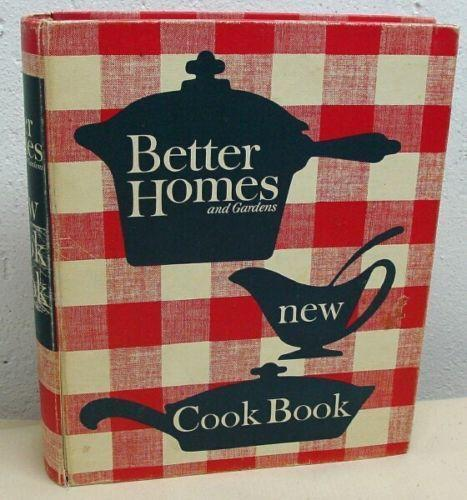 better homes and gardens new cookbook vintage ebay
