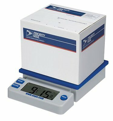 Electronic Digital Usps 10 Lb. Desk Top Postal Scale Extra Large Lcd