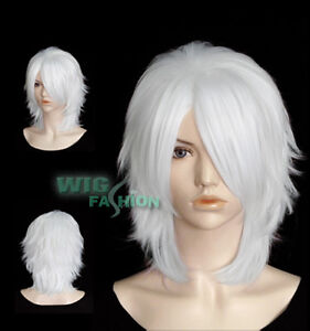 Short White Hair Cosplay 28