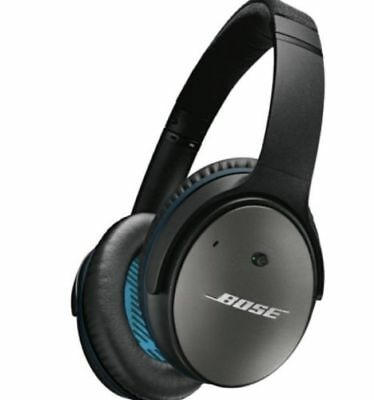Bose QuietComfort 25 Headband Headphones - Black Noise Cancelling  Brand New