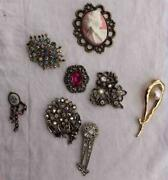 Job Lot Brooches