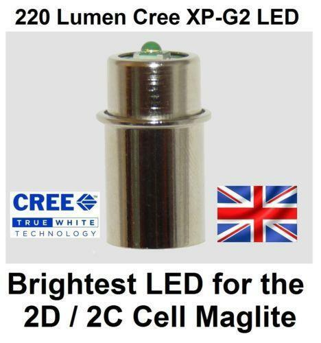 maglite 2 d cell led ebay. Black Bedroom Furniture Sets. Home Design Ideas