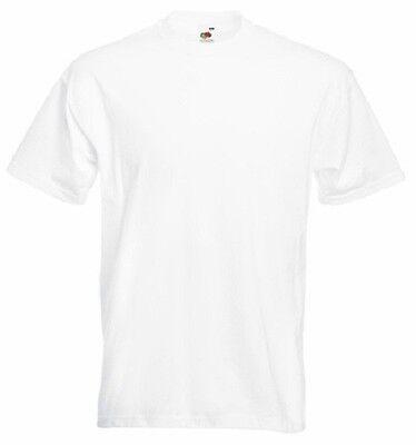 10 Childrens Plain WHITE T-Shirts/Tee Shirts Wholesale