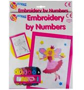 Embroidery by Numbers