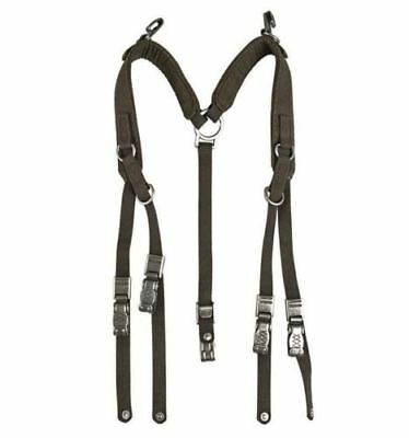 Original German Army Y-Straps Field belt suspenders harness bag tactical belt