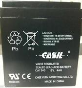 12 Volt 4 Amp Battery