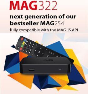 Mag322 IPTV Box - Greek,Spanish,Portuguese,Italian and more