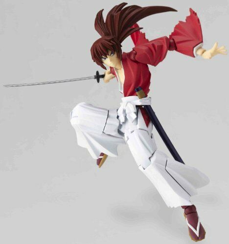 Rurouni Kenshin Revoltech Super Poseable Action Figure #109 Himura Kenshin Japan