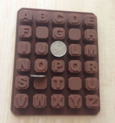 Cake Mold Soap Mold Capital Alphabet Letter Silicone Mould For Candy Chocolate