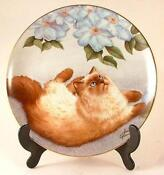 Danbury Mint Cat Plates