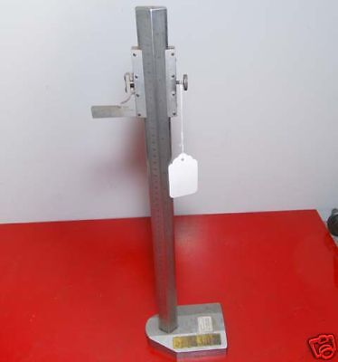 Moore Wright Height Gage 0-19 Inch 0-51 Mm Inv.21791