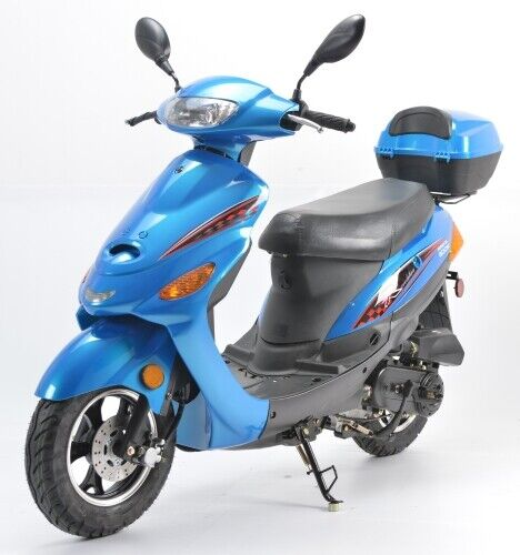 50cc Zapper Scooter Moped NOT Electric WO/ Pedals - Revolution Series Motor Bike