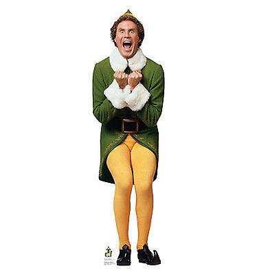 Buddy The Elf Movie Ferrell Life Size Standup Christmas Cardboard Cutout 1720