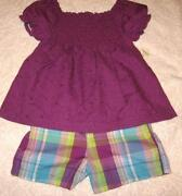 Girls 4T Shorts Sets