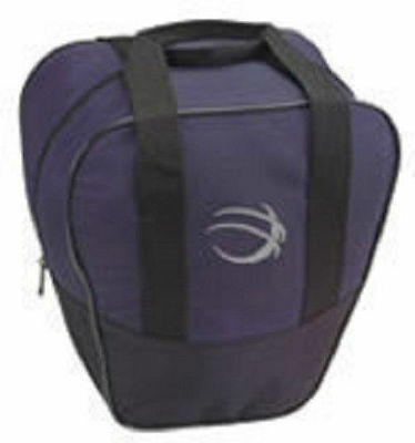 BSI Nova Black/Navy Blue 1 Ball Bowling Bag