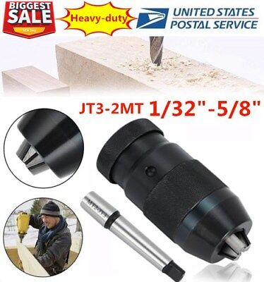 132-58 3jt Pro-series Keyless Drill Chuck Jt3-3mt Taper Arbor Mt3 Cnc Us Ek