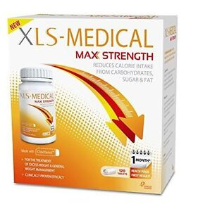 Xls Medical Max Strength Diet Pills 120 Tablets